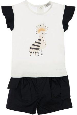 YELLOWSUB Girls Shorts - Cotton Jersey T-shirt & Shorts