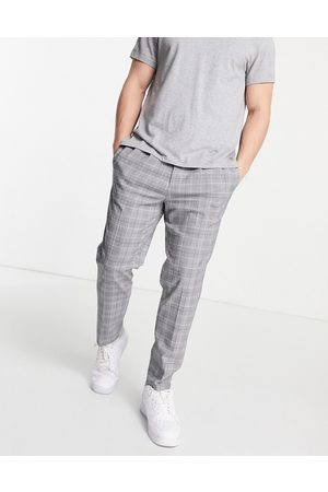 River Island Pleated trouser in check