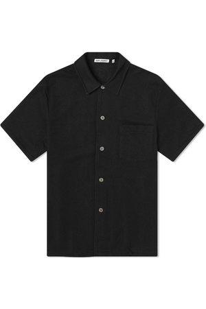 OUR LEGACY Men Short sleeves - Short Sleeve Box Vacation Shirt