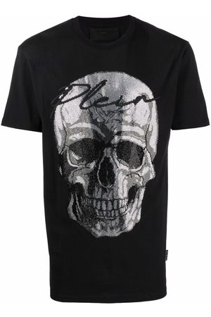 Philipp Plein Men Short Sleeve - Skull-print T-shirt