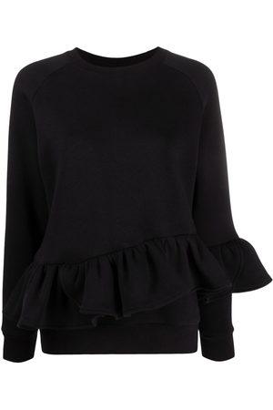 Atu Body Couture X Ioana Ciolacu long-sleeve ruffled sweatshirt