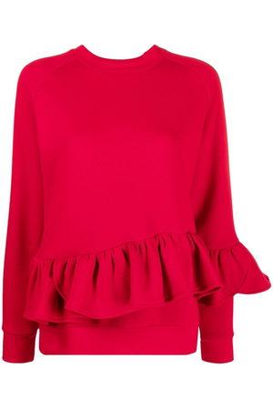 Atu Body Couture X Ioana Ciolacu long-sleeved ruffled sweatshirt
