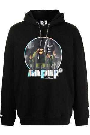 AAPE BY *A BATHING APE® Men Hoodies - AAPER print hoodie