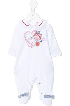 MONNALISA Pyjamas - Anchor heart logo print pyjamas