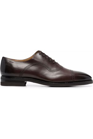 Bally Scotch lace-up leather Oxford shoes