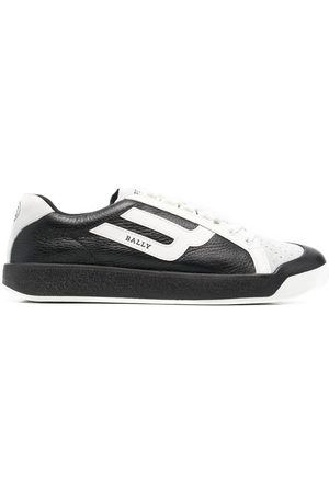 Bally New Competition panelled sneakers