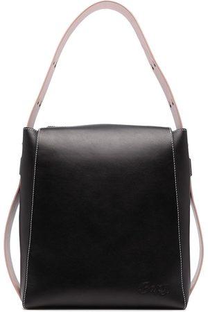 BAPY BY *A BATHING APE® Logo-plaque leather shoulder bag