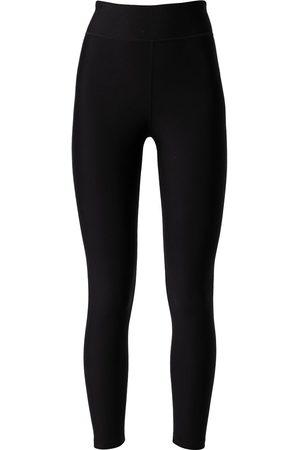 The Upside Women Sports Trousers - Logo-print tech midi pants