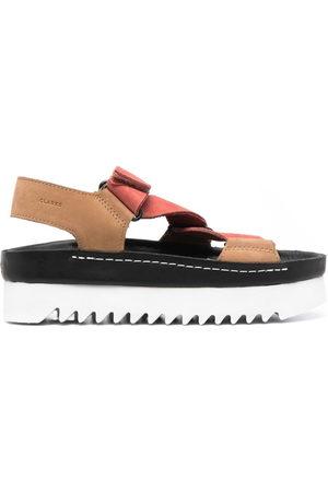 Clarks Ridged-sole sandals