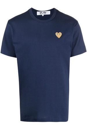 Comme Des Garçons Play Embroidered heart T-shirt