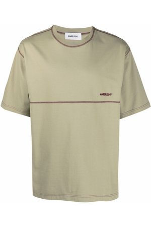 AMBUSH Logo-embroidered T-shirt