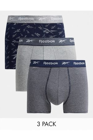 Reebok 3 pack boxers in and navy