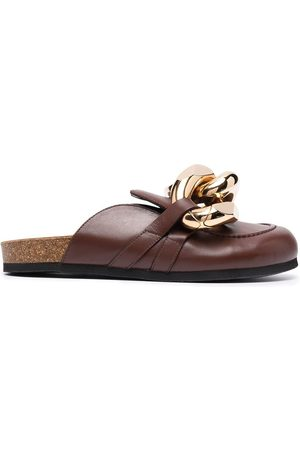 J.W.Anderson Men Loafers - Chain loafer mules