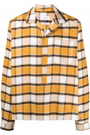 Rhude Check button-down shirt