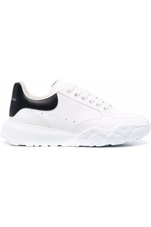 Alexander McQueen Men Sneakers - Court low-top sneakers
