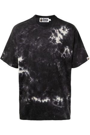 A Bathing Ape Men Short Sleeve - Tie-dye cotton T-shirt