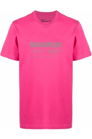 Maharishi Men Short Sleeve - Logo print T-shirt