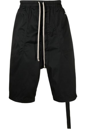 Rick Owens Men Trousers - Drop-crotch slouched trousers