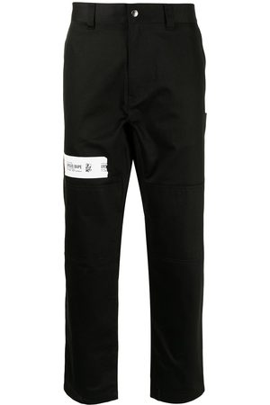 A Bathing Ape Men Trousers - High-waisted straight leg trousers
