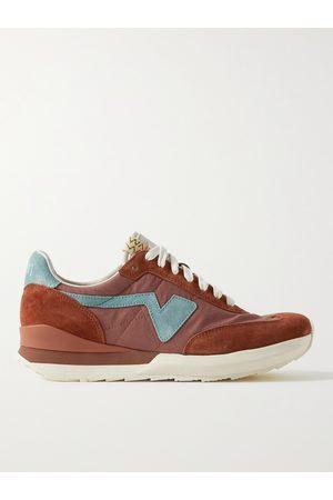 VISVIM Men Sneakers - FKT Runner Suede-Trimmed Nylon and Cotton-Blend Sneakers