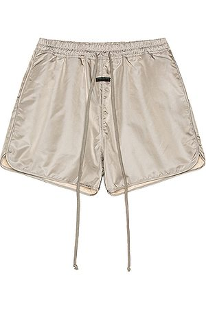 FEAR OF GOD Track Short in Grey Iridescent