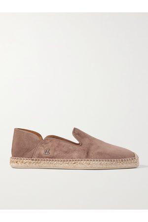 Christian Louboutin Men Casual Shoes - Suede Espadrilles