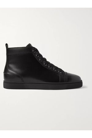 Christian Louboutin Men Sneakers - Louis Leather High-Top Sneakers