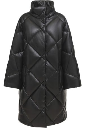 Stand Studio Women Coats - Anissa Faux Leather Puffer Coat