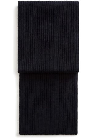 Dolce & Gabbana Men Scarves - Ribbed knitted long scarf