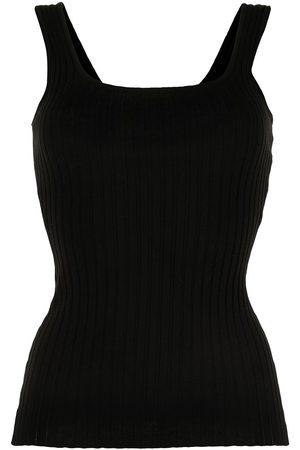 Anna Quan Women Tank Tops - U-neck sleeveless top