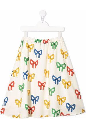 Mini Rodini Girls Printed Skirts - Bow-print skirt