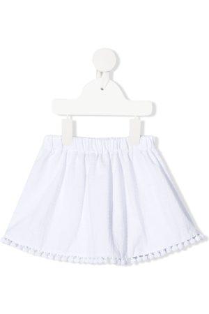 LA STUPENDERIA Appliqué-detailed miniskirt