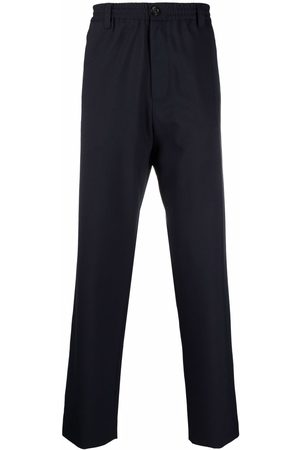 Marni Men Trousers - Button-fastening straight-leg trousers