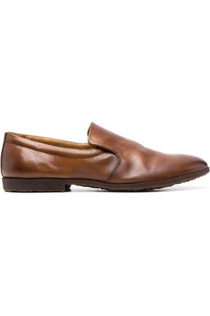 Premiata Men Loafers - Polished leather loafers