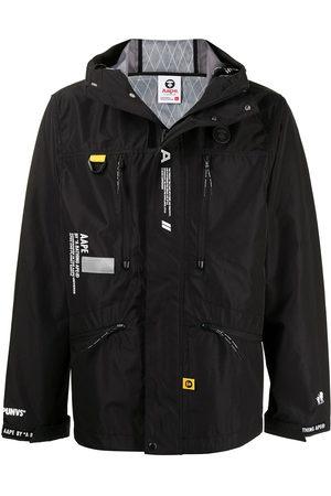 AAPE BY *A BATHING APE® Men Sports Jackets - Zip-front hooded jacket
