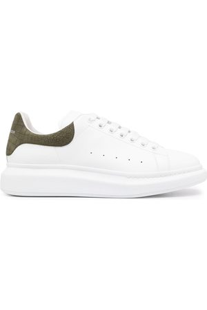 Alexander McQueen Men Sneakers - Oversized leather sneakers