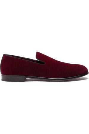 Dolce & Gabbana Men Footwear - Velvet-effect slippers