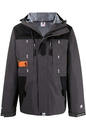 AAPE BY A BATHING APE Zip-up hooded jacket