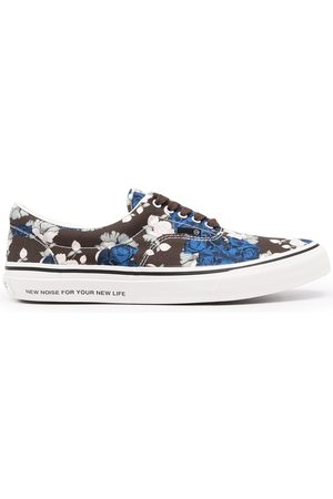 UNDERCOVER Floral-print low-top sneakers