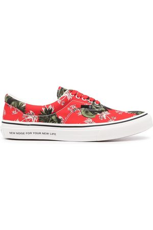 UNDERCOVER Palm tree-print sneakers