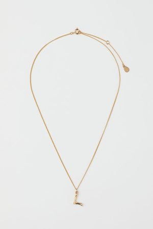 H&M -plated pendant necklace