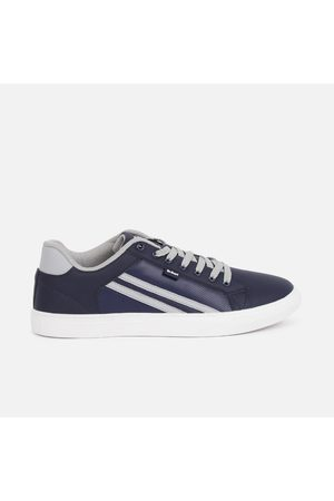 Lee Cooper Men Solid Lace-Up Sneakers