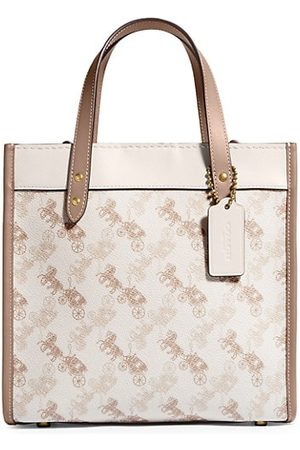 Coach Women Handbags - Signature Carriage Print Tote