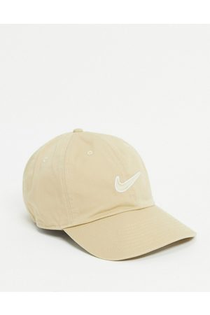 Nike H86 Swoosh washed cap in sand
