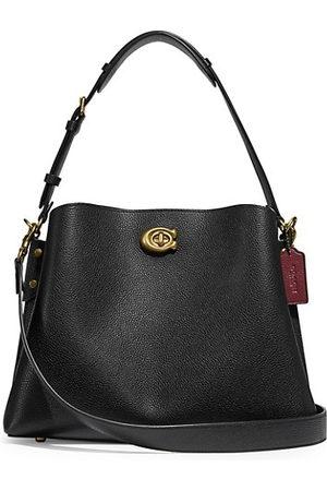 Coach Handbags - Willow Leather Shoulder Bag