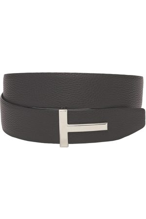 Tom Ford 4cm T Reversible Leather Belt