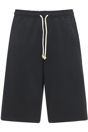 Gucci Men Shorts - Technical Jersey Shorts W/side Bands
