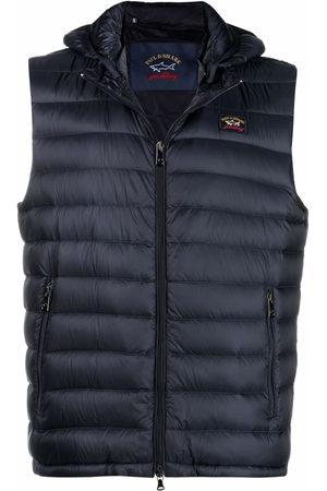 Paul & Shark Men Waistcoats - Detachable-hood ultralight vest