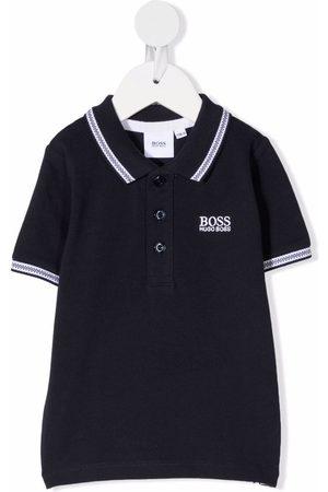 HUGO BOSS Polo Shirts - Embroidered logo polo shirt