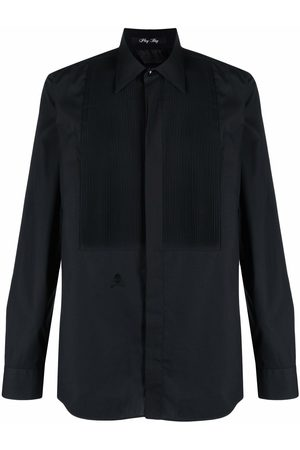 Philipp Plein Men Long sleeves - Playboy long-sleeved cotton shirt